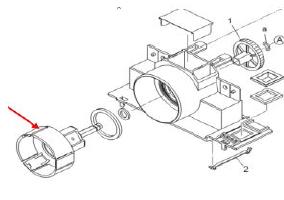震旦AD426复印机维修手册碳粉瓶