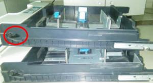 复印机纸盒断裂