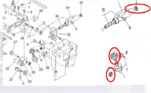 复印机齿轮异响