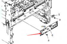 震旦ADC286新交机固件升级后跳C5603代码