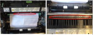 复印机卡纸在鼓组件
