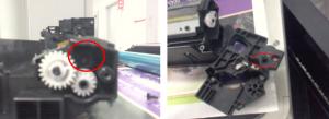 复印机有很大的响声