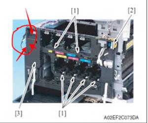彩色复印机驱动板连接线