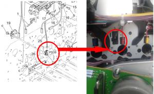 复印机提示C2152