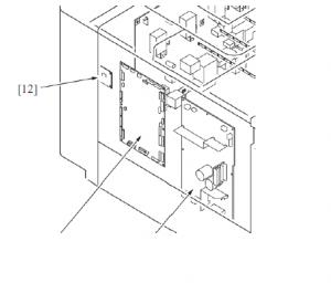 复印机EEPROM位置