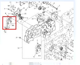 复印机维修故障C2257
