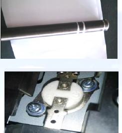 复印机定影磨损