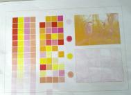 打印缺少颜色