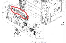 复印机纸盒故障-震旦ADC223新交机后总是显示第一纸盒缺纸