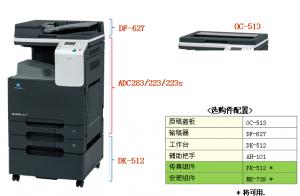 复印机基本配置