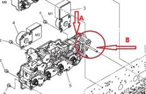 """震旦ADC218机器异响,机器发出""""叽叽""""异响声"""