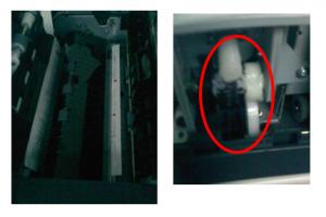 复印机DF-621扫描送稿器卡纸