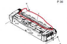 震旦ADC225打印复印的时候响声很大