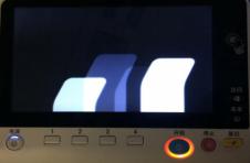 震旦ADC367开机无法进去系统卡在白色条屏幕界面