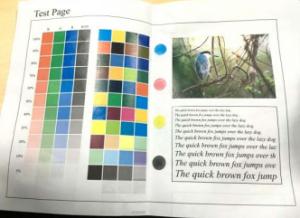 复印机图像变形